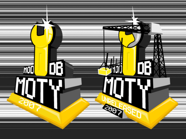 Mod of the Year 2007 Trophies