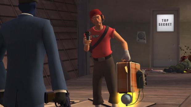 The Spy surprised Scout