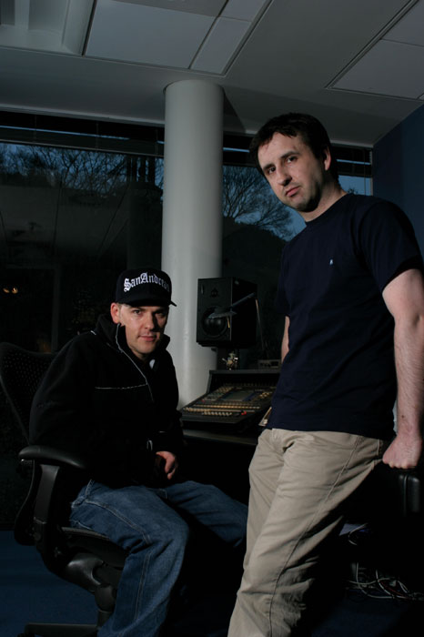Craig Connor (left) and Allan Walker (right)