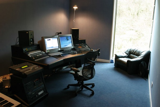Craig Connor's studio at Rockstar North