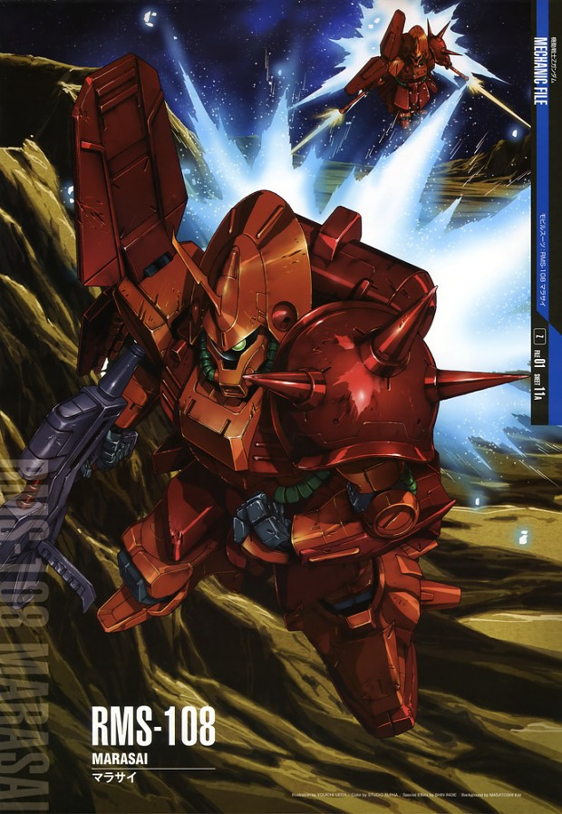 Marasai - Mass produced mobile suits