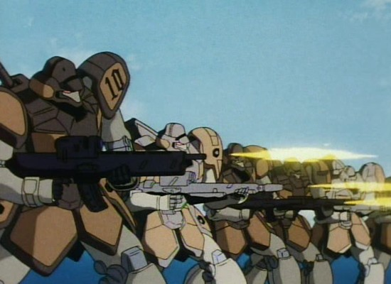 Maganac - Mass produced mobile suits