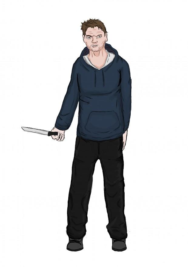 Main Character concept survivor