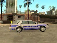 Clover Police Car