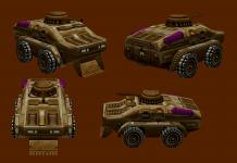 BRDM-2 Wild Raider Scout