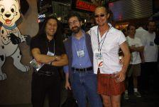 John Romero, Warren Spector, Mike Wilson, E3 2000