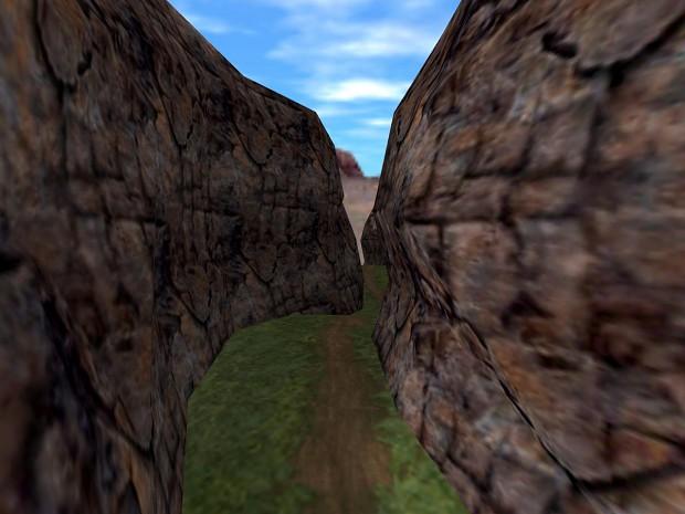 Cliffs in Half Life