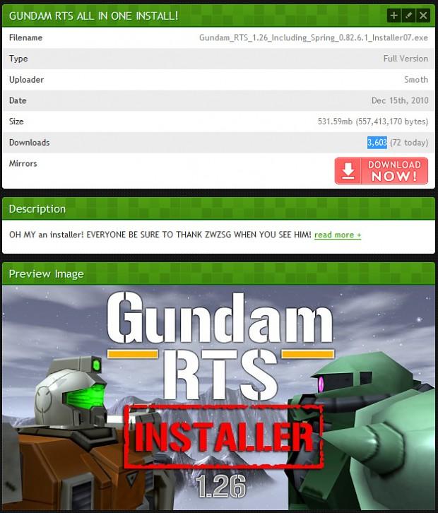 First installer release.