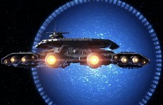Odyssey entering Supergate