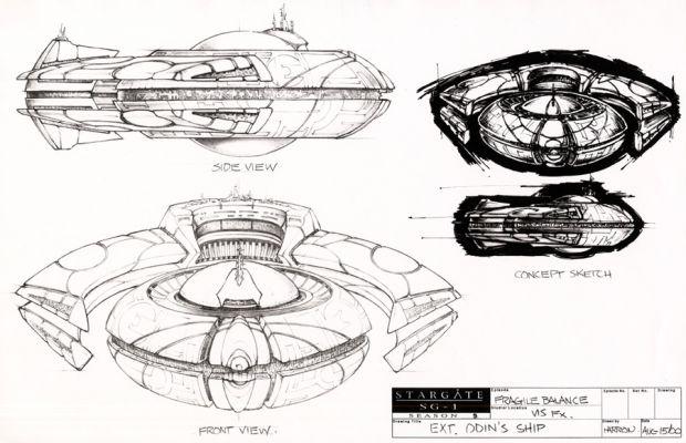 Stargate Concept Art