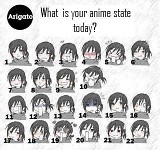 What is your anime state today?