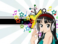 Girl & Music & Fun