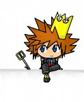 Sora chibi drawing