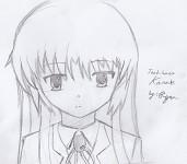 Tachibana Kanade, Practice Fanart