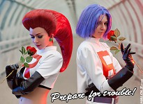 Team rocket cosplay