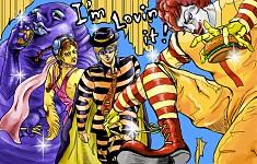 McDonald's Bizarre Adventure
