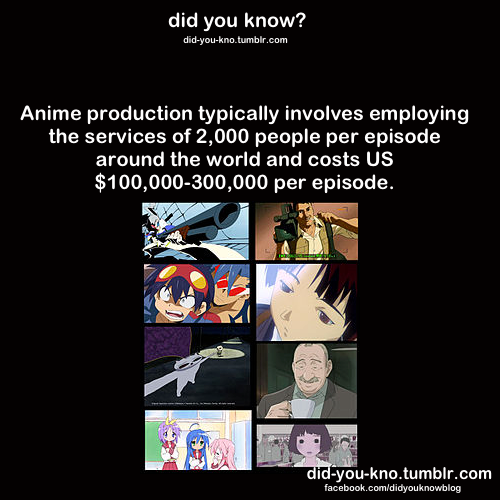 anime fun fact