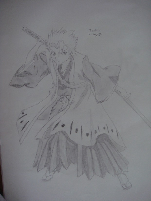 Hitsugaya drawing