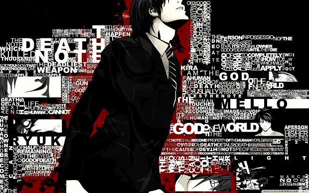 Death Note - wallpaper -