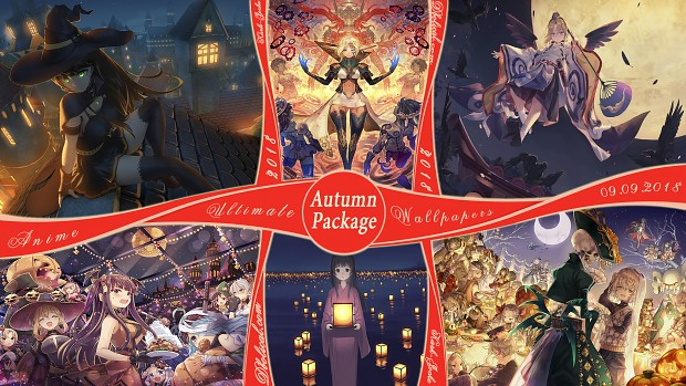 New Anime Wallpapers Confirmed 09.09.18