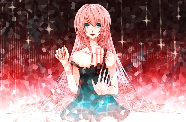 Megurine Luka Vocaliod fan art ... enjoy :)