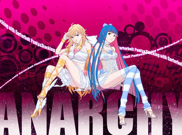 Panty Stocking With Garterbelt Anarchy Wallpaper Image