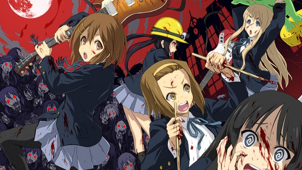 Zombies are attacking K-On!