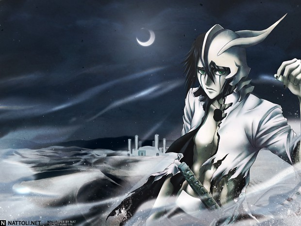 Ulquiorra in the sands...