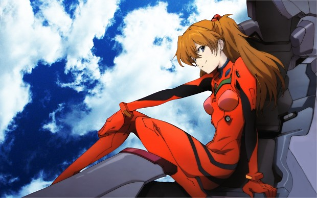 Asuka Langley highres blue eyes