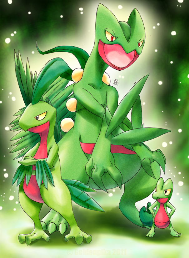 Treecko Evolution