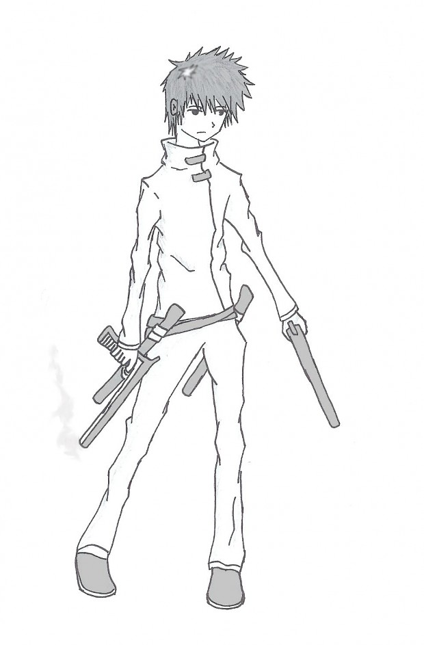 Gunner drawing