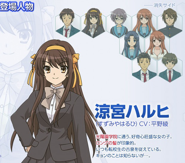The Reminiscences of Haruhi Suzumiya  PSP/PS3