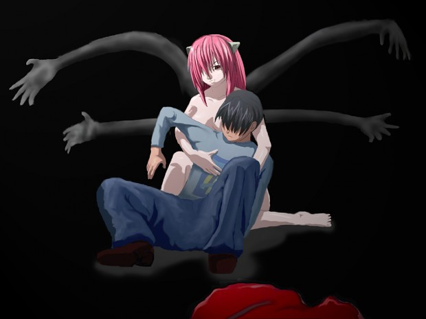 kouta and lucy -Elfen Lied