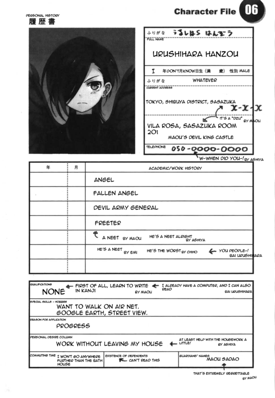 Worst Resume Ever Image Anime Fans Of Moddb Mod Db
