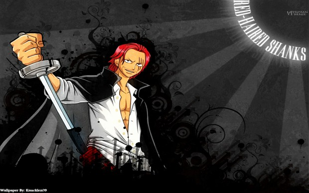 One Piece Red-Haired SHANKS LE ROUX