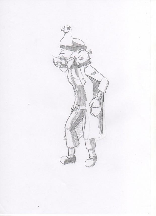 Ghost Trick  -Pigeon Man-