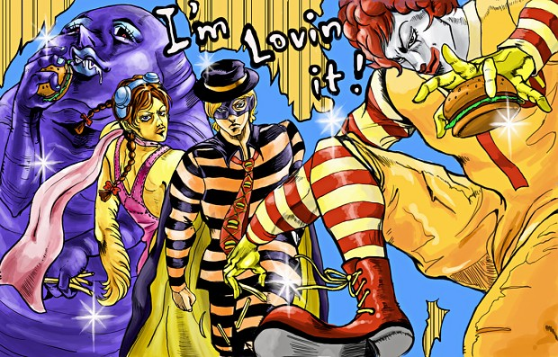 McDonald's Bizarre Adventure
