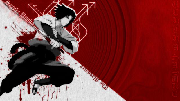 Uchiha Sasuke Wallpaper