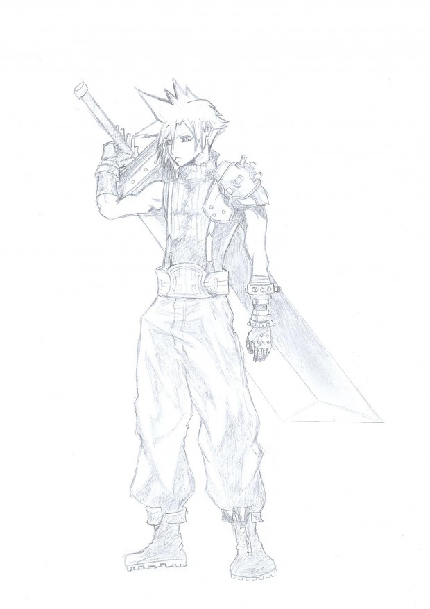 My drawing of Cloud
