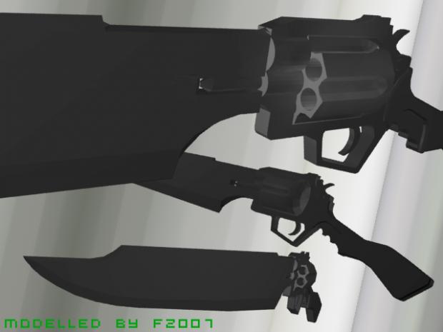 Gunblade model