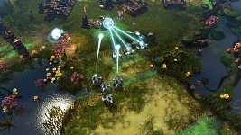 Grey Goo - Base under attack