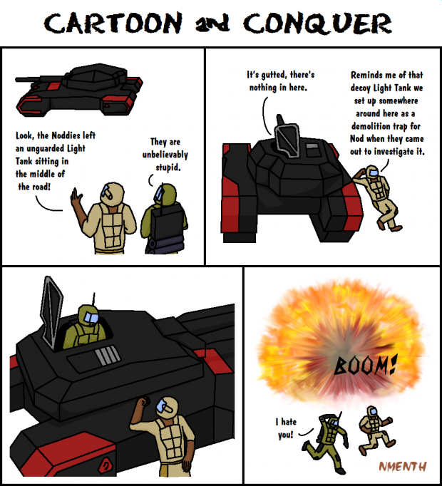 Cartoon and Conquer #017