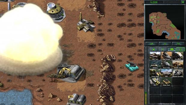 C&C Remastered - Nuke Tank