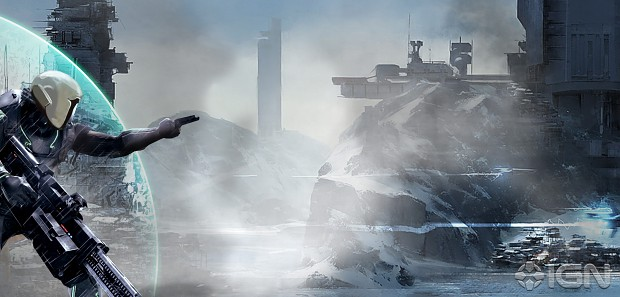 Concept Art for Bungie's next game.