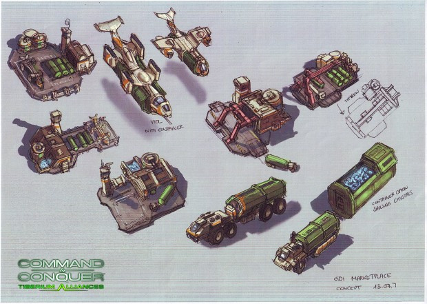 Tiberium Alliances  Concept Art