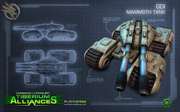 TA Mammoth Tank