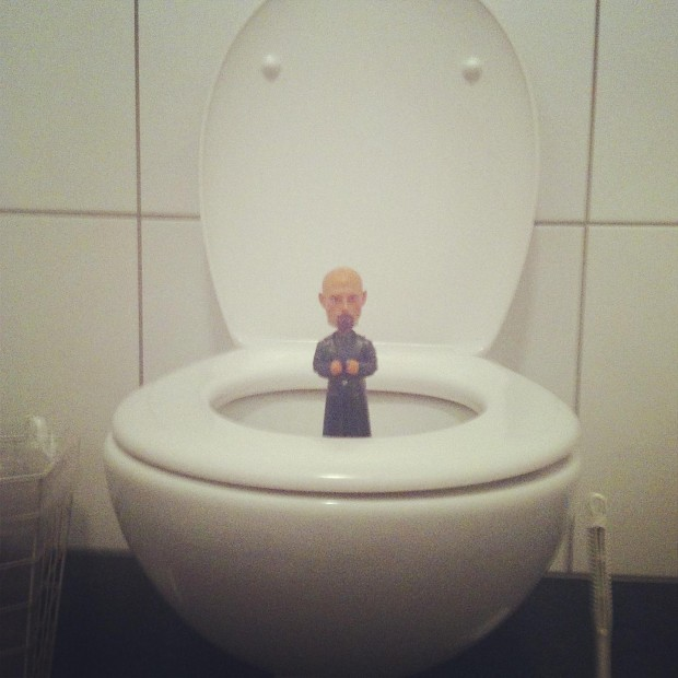 Kane in Phenomics toilet...