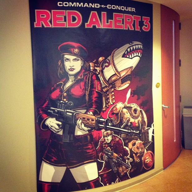 Red Alert 3 Poster