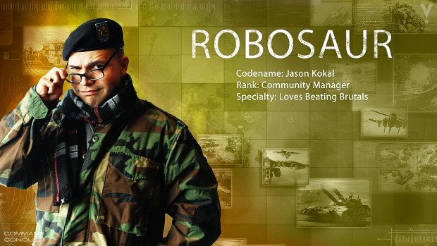"New C&C Community Manager - Jason ""Robosaur"" Kokal"