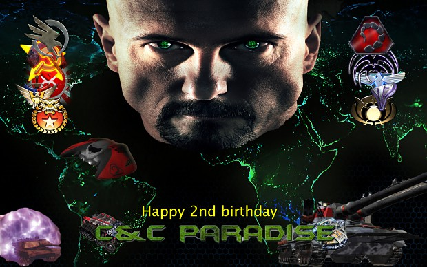 Happy B-Day C&C Paradise